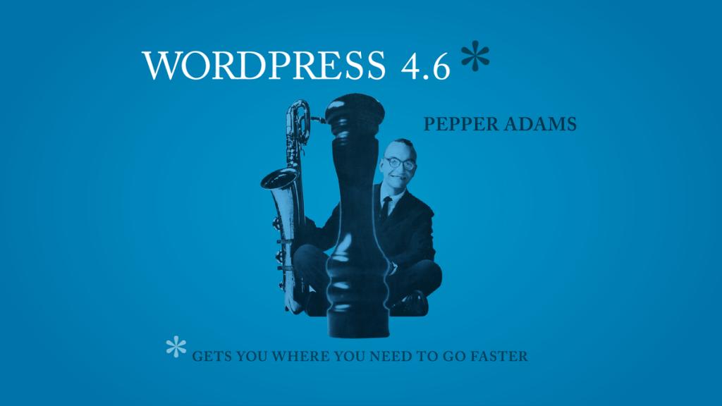 "WordPress 4.6 ""Pepper"" now parsed"