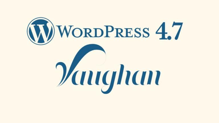 "WordPress 4.7 <span class=""summary"">– Vaughan <span class=""summary"">– now parsed</span>"